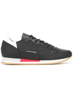 кроссовки со шнуровкой Philippe Model