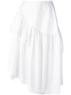 юбка со складками Simone Rocha