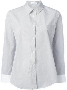 полосатая рубашка Jil Sander