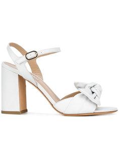 twist-detailed block heel sandals Fratelli Rossetti