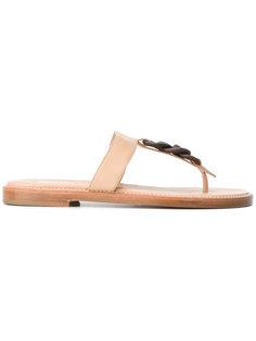 chain detail sandals Fratelli Rossetti