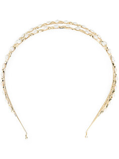 pearl embellished hair band Rosantica