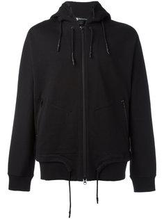 drawstrings zipped hoodie Y-3