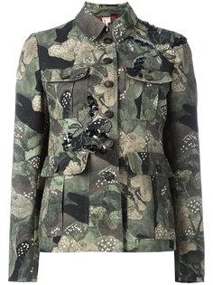 куртка с камуфляжным принтом Antonio Marras