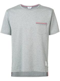 футболка с нагрудным карманом Thom Browne