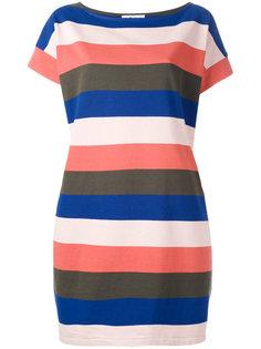 полосатое платье-футболка YMC