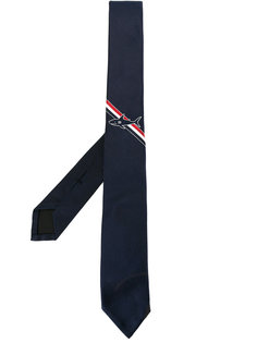 галстук с принтом акулы Thom Browne