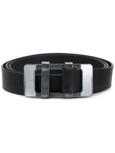 rectangular buckle belt Kazuyuki Kumagai