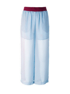 sheer polka dots trousers IM Isola Marras