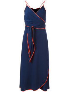 платье с контрастной окантовкой Tory Burch