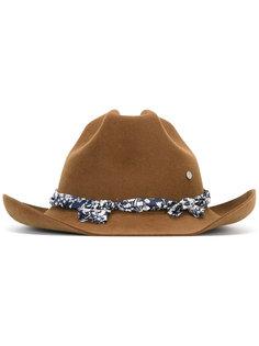 Lucky Cowboy flower ribbon hat Maison Michel