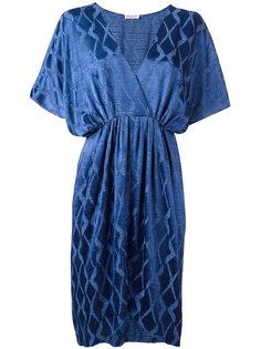 jacquard V-neck dress Masscob