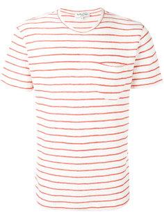 полосатая футболка  YMC