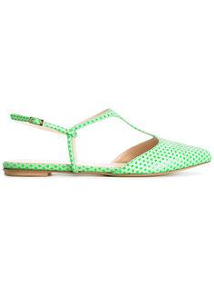 polka dots T-strap sandals Lenora