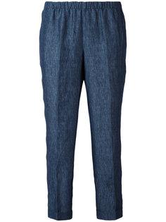 укороченные джинсы с эластичным поясом Masscob