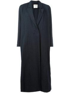 однобортное пальто Forte Forte