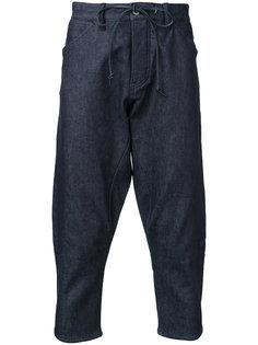 cropped denim trousers  Kazuyuki Kumagai