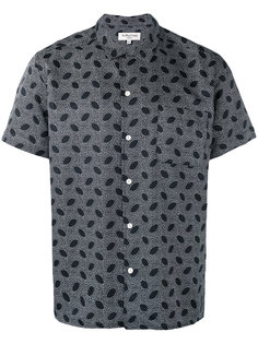 рубашка с мелким узором YMC