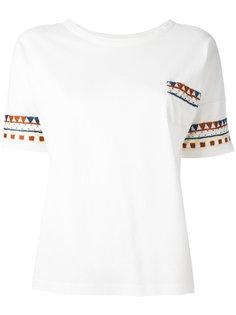 футболка с орнаментом YMC
