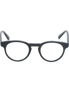 оптические очки с круглой оправой Masunaga