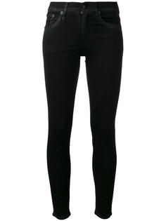 high-rise skinny jeans R13
