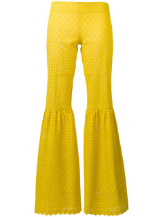 fitted flare trousers Daizy Shely