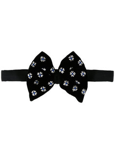 printed bow tie  Jupe By Jackie