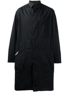 плащ с накладными карманами Yohji Yamamoto