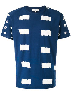 футболка с геометрическим узором YMC