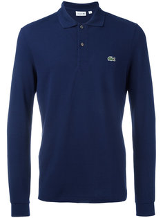 футболка-поло с длинными рукавами Lacoste