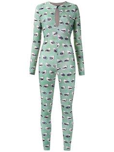 printed jumpsuit Adriana Degreas