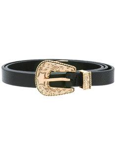 buckled belt  B-Low The Belt