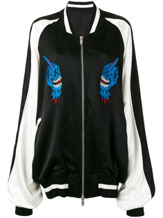 куртка-бомбер с нашивками Unravel Project