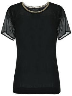 silk t-shirt Adriana Degreas