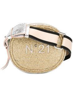 сумка на плечо с бляшкой с логотипом Nº21