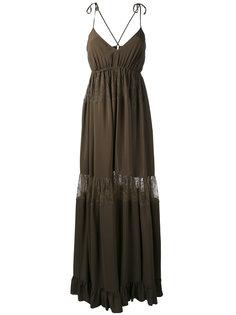 lace insert maxi dress Nº21