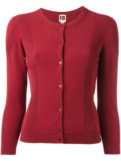ribbed detail buttoned cardigan IM Isola Marras