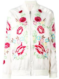 двухсторонняя куртка-бомбер Nylo   P.A.R.O.S.H.