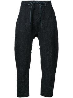 drawstring cropped trousers  Kazuyuki Kumagai