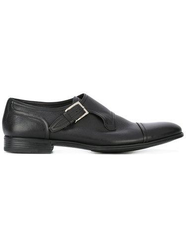 туфли монки с пряжками Fabi