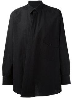 асимметричная рубашка Yohji Yamamoto