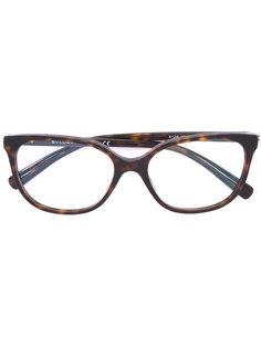 tortoiseshell square sunglasses Bulgari