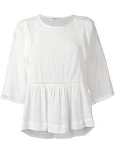 broderie anglaise blouse Masscob