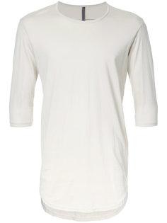 curved hem T-shirt  Kazuyuki Kumagai