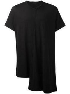 асимметричная футболка Yohji Yamamoto