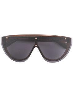 солнцезащитные очки Grey Mono Dion Lee