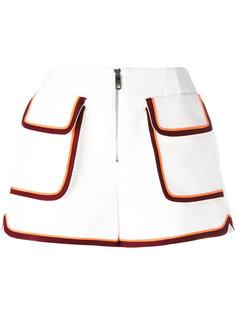 шорты с накладными карманами Emilio Pucci