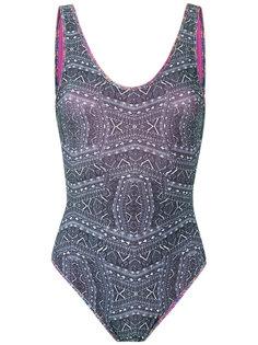 printed swimsuit Janiero