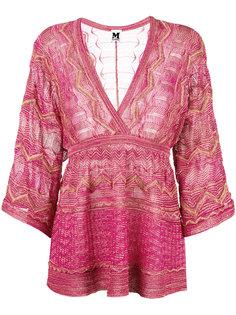 блузка с V-образным вырезом M Missoni