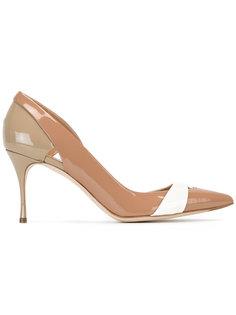туфли с вырезными деталями Sergio Rossi